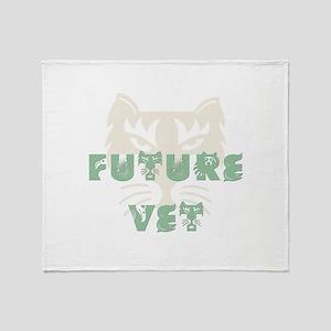 Future Vet Throw Blanket
