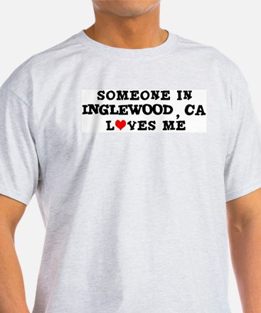 Someone in Inglewood Ash Grey T-Shirt