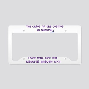 Cosmos License Plate Holder