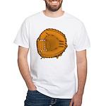 catcher's mitt White T-Shirt