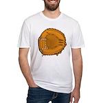 catcher's mitt Fitted T-Shirt
