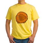 catcher's mitt Yellow T-Shirt