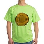 catcher's mitt Green T-Shirt