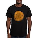 catcher's mitt Men's Fitted T-Shirt (dark)