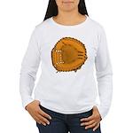 catcher's mitt Women's Long Sleeve T-Shirt