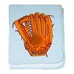 baseball glove baby blanket