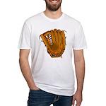 baseball glove Fitted T-Shirt