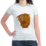 baseball glove Jr. Ringer T-Shirt