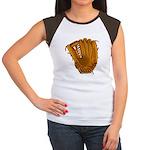 baseball glove Women's Cap Sleeve T-Shirt