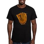 baseball glove Men's Fitted T-Shirt (dark)