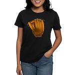 baseball glove Women's Dark T-Shirt