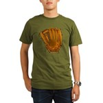 baseball glove Organic Men's T-Shirt (dark)