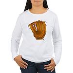 baseball glove Women's Long Sleeve T-Shirt