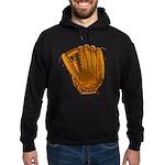 baseball glove Hoodie (dark)