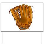 baseball glove Yard Sign