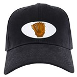 baseball glove Black Cap