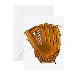 baseball glove Greeting Cards (Pk of 20)