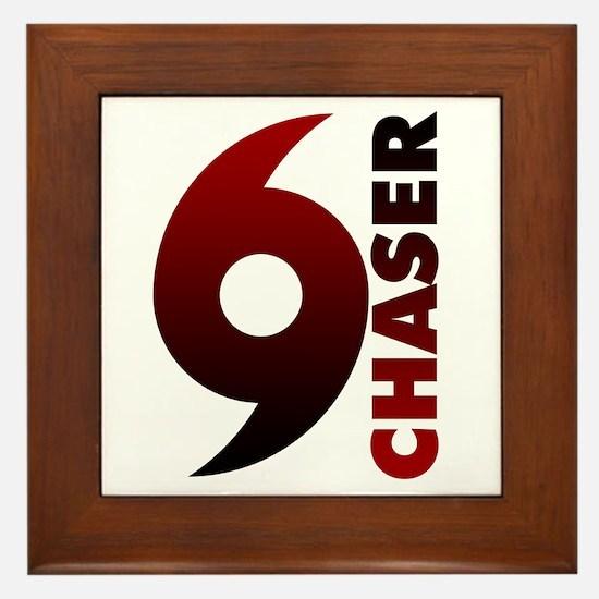 Hurricane Chaser Framed Tile