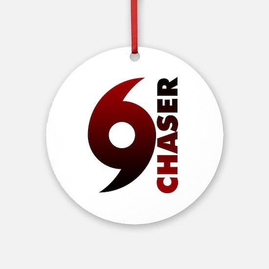 Hurricane Chaser Round Ornament