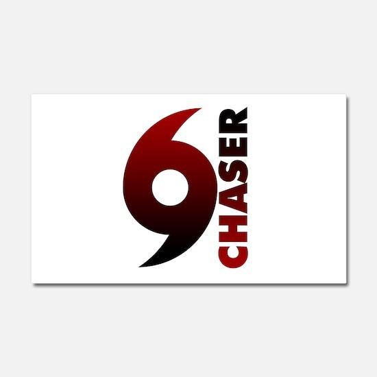 Hurricane Chaser Car Magnet 20 x 12