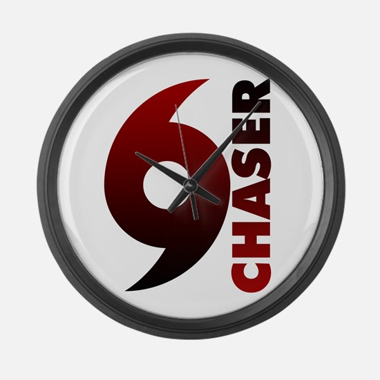 Hurricane Chaser Large Wall Clock