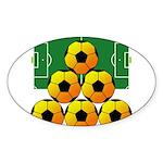 soccer Sticker (Oval 10 pk)