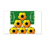 soccer 22x14 Wall Peel