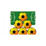 soccer 38.5 x 24.5 Wall Peel