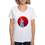 kendo Women's V-Neck T-Shirt