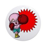 Boxing Ornament (Round)