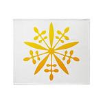manchukuo Throw Blanket