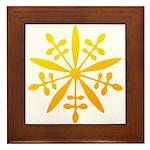 manchukuo Framed Tile