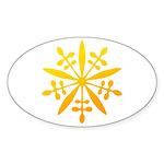 manchukuo Sticker (Oval 10 pk)