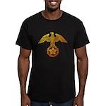 kyokujitu Men's Fitted T-Shirt (dark)