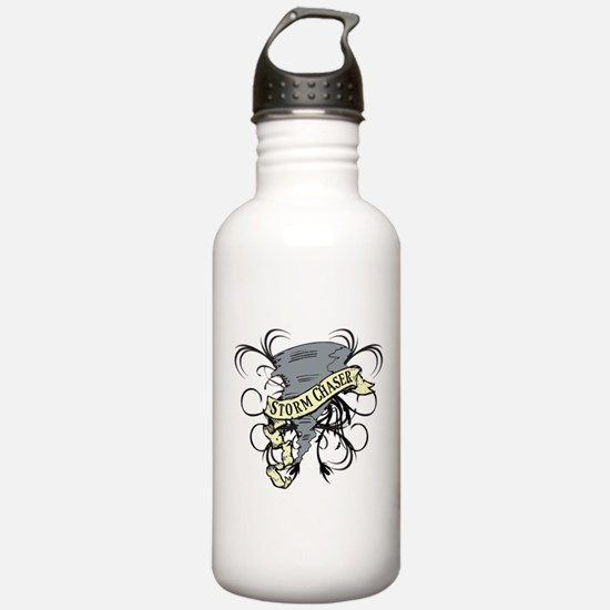 Storm Chasers Banner Water Bottle