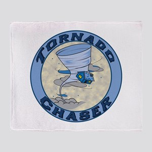 Tornado Chaser Throw Blanket