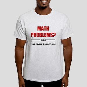 Math Problems Light T-Shirt