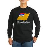 Manchukuo 2 Long Sleeve Dark T-Shirt