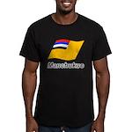 Manchukuo 2 Men's Fitted T-Shirt (dark)