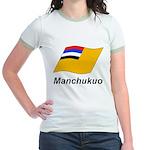 Manchukuo 2 Jr. Ringer T-Shirt