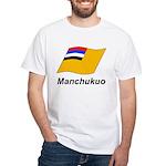 Manchukuo 2 White T-Shirt