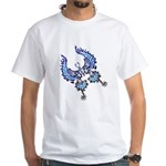 tribal butterfly White T-Shirt