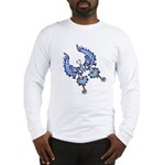 tribal butterfly Long Sleeve T-Shirt