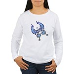 tribal butterfly Women's Long Sleeve T-Shirt