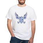 tribal eagle White T-Shirt