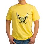 tribal eagle Yellow T-Shirt