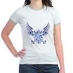 tribal eagle Jr. Ringer T-Shirt