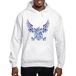tribal eagle Hooded Sweatshirt