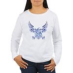 tribal eagle Women's Long Sleeve T-Shirt