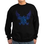 tribal eagle Sweatshirt (dark)